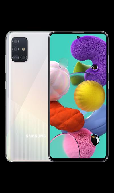 Смартфон Samsung Galaxy A51 128GB Белый